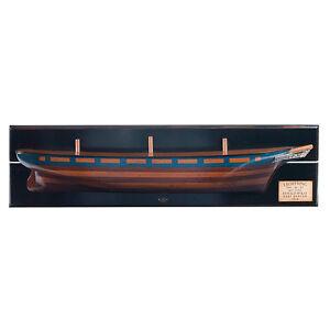 "Lightning 1854 Clipper Tall Ship Wooden Half Hull Model 37"" Nautical Wall Decor"