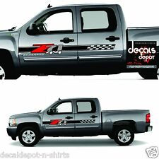 2010-2017  Z71 Off Road Decals - F stickers Parts Chevy Silverado GMC Sierra 4x4