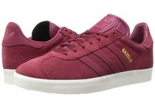 Adidas Men's Gazelle Burgundy/Ruby Size 8 Shoes Crimson BZ0030 New!  Free S/H!