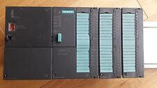 Siemens SIMATIC s7 - 300 CPU 312 + + SM 321+ + SM 322 + + ps307 Incl. Alimentatore