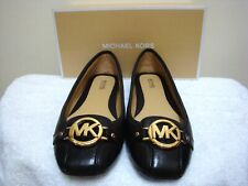 NEW MICHAEL KORS FULTON MOCCASIN LOAFER SIZE 10 US  40 EU BLACK LEATHER SHOES