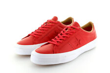 Converse Cons One Star Ox Casino Red Dune Leather Lunarlon Gr. 42,5/43,5 US 9