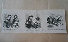 Vignette Caricature 1863 - Le Diable costume