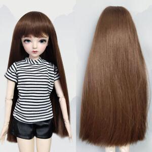 Doll Wigs for 1/3 BJD 60cm Doll Hair Doll Accessories Hand-on Khaki Long Hair