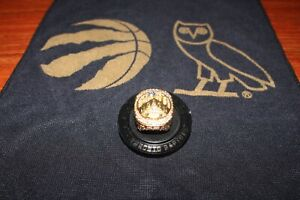 TORONTO RAPTORS REPLICA CHAMPIONSHIP RING 2019 SGA + BONUS RALLY TOWEL *WOW*