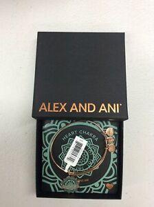 Alex and Ani The Heart Chakra Bangle Bracelet Shiny Rose