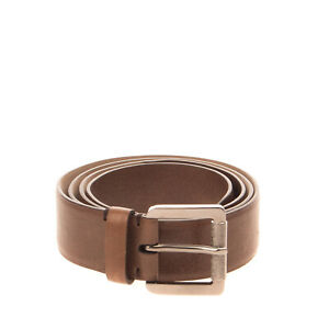 RRP €550 BRUNELLO CUCINELLI Leather Belt Size M  85/34 Pin Buckle Made in Italy