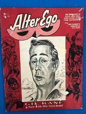 ALTER EGO #10 comic fanzine (1969) Roy Thomas Gil Kane Steranko Joe Kubert VGVG+