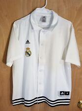 Adidas Real Madrid Snap Shooter Soccer Shirt Jersey Medium M Nwot Beautiful