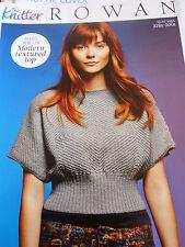 Knitting  Pattern For Lady's Lovely Top In Rowan 4ply- 32-50in Bust