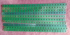 "Meccano - ten 12.5"" perforated strips (B)"