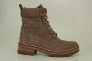 Timberland Courmayeur Valley 6 Inch Boots Women Lace up Boots Shoes A1RQX