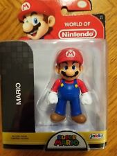 "Jakks Pacific World of Nintendo Series 2-7 MARIO 2.5""Action Figure New Sealed"