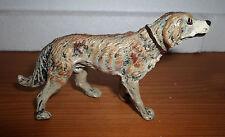 vintage Lineol Elastolin retriever dog animal figures