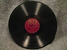 "78 RPM 10"" Record Hildegarde Ill See You Again & A Room With A View Decca 23101"