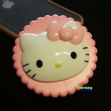 New Super Cute Hello Kitty Eye Contacts Lens Box Case Pink Cookies Style
