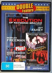 In the Eyes of A Stranger DVD + Execution of Raymond Graham - Morgan Freeman
