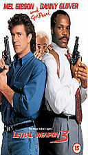 Lethal Weapon 3 vhs video Mel Gibson Danny Glover