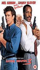 Lethal Weapon 3 [VHS] [1989], Good VHS, Mel Gibson, Danny Glover, Joe Pe, Richar
