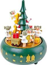 Figuritas de Navidad ángeles de madera