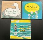 Vintage Augusta Goldin Let's Read and Find Out Science Hardcover Lot Ducks Salt