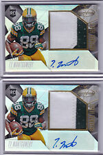 2015 Panini Certified TY MONTGOMERY Auto AUTOGRAPH PATCH RC Rookie Card LOT /799