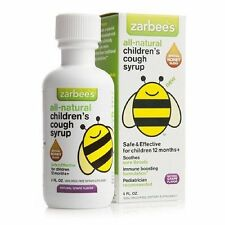 Zarbees Children's All-Natural Cough Syrup, Grape Flavor, 4 FL Ounce