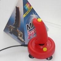 Joystick Matt DB9 für Commodore, Amiga , Spectrum, Atari 2600. etc. ROT . NEU!