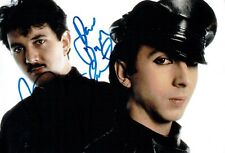 SOFT CELL Marc ALMOND & David BALL Double SIGNED Photo 5 AFTAL Autograph COA