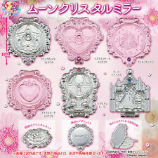 Bandai Bishoujo Senshi Sailor Moon Crystal Mirror Gashapon Toys Figure Set of 6