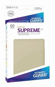 Ultimate Guard Supreme UX Sleeves Japanische Größe Matt Sand (60)