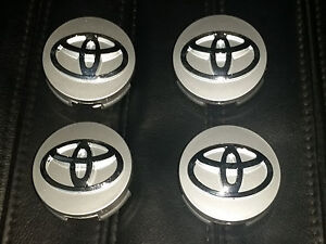 4 Toyota Wheel center caps 11-14 Highlander Camry Sienna Venza Avalon Prius V S