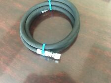 "1/4"" x 144"" 2-Wire Hydraulic Hose Assembly 2-Female JIC Fittings"