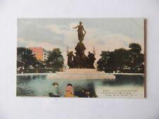 CPA Paris. La Fontaine de Dalou. Place de la Nation