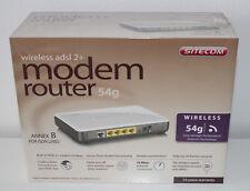Sitecom Modem Router 54 g wireless adsl 2+  802.11 b/g NEU und OVP