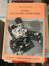 LORENZONI - STORIA DEL TEATRO GIAPPONESE - SANSONI - 1961