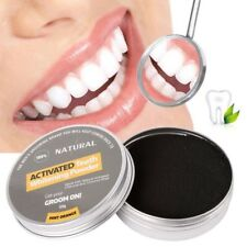 Natural Organic Black Charcoal - Coconut Shell Teeth Whitening Powder Toothpaste