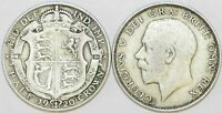 1920 to 1927 George V Silver Halfcrown First Design Your Choice of Date / Year