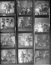 CDZ-2082 CONTACT & NEGATIVE SET 1960'S NUDE BLACK GIRLFRIENDS