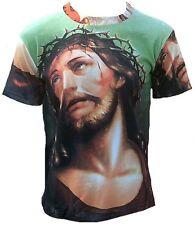 JESUS CHRIST THORNS CROWN ViP Tattoo Star T-Shirt G:M