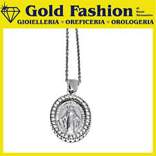 Pendente argento Tit.925 con madonnina - Thy Italy MA_03