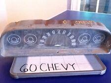 1960 Chevy  Speedometer Gauge Cluster Meter GMC Pickup 4x4 4x2 Suburban