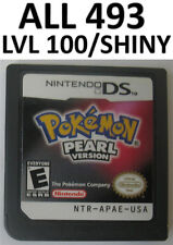 Pokemon Pearl Game Unlocked All 493 Level 100 Shiny Event DS lite DSi 2DS 3DS XL