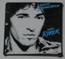 """Bruce Springsteen 1.5"""" x 1.5"""" The River Album Pin Original - Some Wear on Pin"""