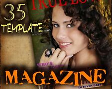 M2 Magazine Covers Digital Photo Background Holiday Christmas Halloween Easter