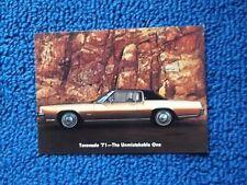 1971 Oldsmobile Toronado Postcard