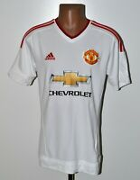 MANCHESTER UNITED 2015/2016 AWAY FOOTBALL SHIRT JERSEY ADIDAS SIZE M ADULT