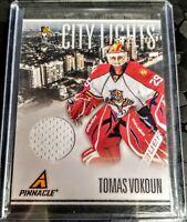 2010-11 Tomas Vokoun Pinnacle City Lights Materials #24 034/499 Florida Panthers