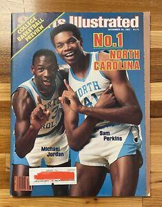 Michael Jordan 1983 1st Ever Sports Illustrated Mag Last Dance Tar Heels 61240