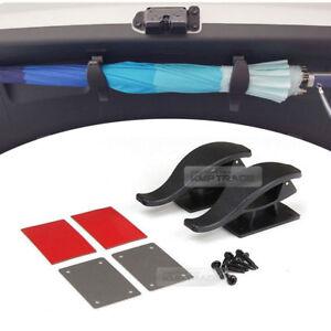 Car Trunk Multi Purpose Lid Diy Umbrella Holder Hanger 14pcs for SAAB Car